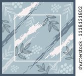 blue scarf pattern perfect for... | Shutterstock .eps vector #1118131802