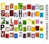 Similar images stock photos vectors of alphabet collection cut similar images stock photos vectors of alphabet collection cut letters magazines 61068091 shutterstock spiritdancerdesigns Choice Image