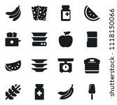 set of simple vector isolated... | Shutterstock .eps vector #1118150066