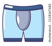 men brief icon. cartoon... | Shutterstock . vector #1118167682