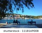 pythagorion  samos island ... | Shutterstock . vector #1118169008
