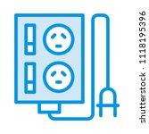 socket outlet plugin | Shutterstock .eps vector #1118195396