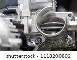 car engine close up | Shutterstock . vector #1118200802