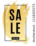 luxury fashionable banner for... | Shutterstock .eps vector #1118205272
