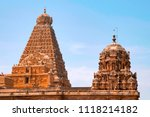 shikharas or vimana  amman... | Shutterstock . vector #1118214182