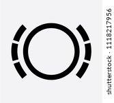 worn brake pads icon | Shutterstock . vector #1118217956