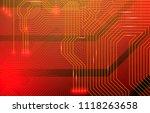 colorful microscheme design.... | Shutterstock .eps vector #1118263658