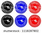 maryland   rubber stamp  ... | Shutterstock .eps vector #1118287802