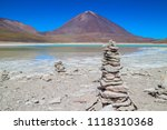 volcan licancabur uyuni bolivia ...   Shutterstock . vector #1118310368