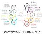 business infographic design... | Shutterstock .eps vector #1118316416