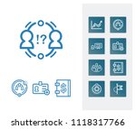 hr icon set and team success...   Shutterstock .eps vector #1118317766