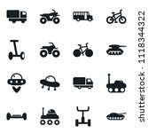 set of simple vector isolated...   Shutterstock .eps vector #1118344322
