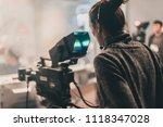 behind the scene. multiple... | Shutterstock . vector #1118347028