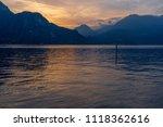 bellagio  lake como   italy  ... | Shutterstock . vector #1118362616