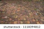 brick ground texture | Shutterstock . vector #1118394812