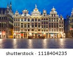 beautiful houses of the grand... | Shutterstock . vector #1118404235