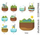 generation energy types power... | Shutterstock .eps vector #1118419466