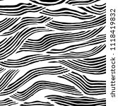 wavy lines pattern. abstract... | Shutterstock .eps vector #1118419832