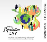 vector illustration of a text... | Shutterstock .eps vector #1118420852