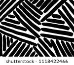 line pattern. brush. vector.... | Shutterstock .eps vector #1118422466