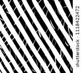 line pattern. brush. vector.... | Shutterstock .eps vector #1118422472