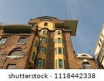 interesting styled residential... | Shutterstock . vector #1118442338