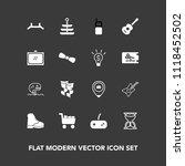 modern  simple vector icon set... | Shutterstock .eps vector #1118452502
