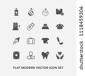modern  simple vector icon set... | Shutterstock .eps vector #1118459306