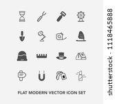 modern  simple vector icon set... | Shutterstock .eps vector #1118465888