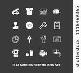 modern  simple vector icon set... | Shutterstock .eps vector #1118469365