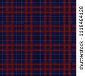 seamless plaid check tartan...   Shutterstock .eps vector #1118484128