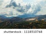 beautiful panoramic view on... | Shutterstock . vector #1118510768