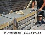 professional reconstruction of... | Shutterstock . vector #1118519165