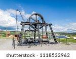 Abandon Coal Mine In Wales  Uk