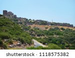 wide angle view of the ancient... | Shutterstock . vector #1118575382