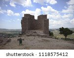 detail structure from temple... | Shutterstock . vector #1118575412