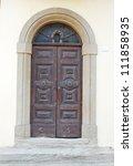italy. romagna apennines  san... | Shutterstock . vector #111858935