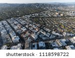 aerial view of beverly hills... | Shutterstock . vector #1118598722