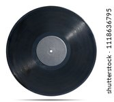 gramophone record long played... | Shutterstock . vector #1118636795