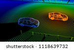 autonomous self driving... | Shutterstock . vector #1118639732