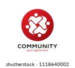 community logo design template | Shutterstock .eps vector #1118640002