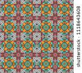 vector abstract seamless... | Shutterstock .eps vector #1118643608
