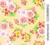 abstract elegance seamless... | Shutterstock . vector #1118688842