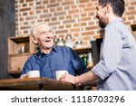 pleasant communication. low... | Shutterstock . vector #1118703296