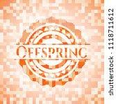 offspring abstract emblem ...   Shutterstock .eps vector #1118711612