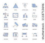 construction icons concept | Shutterstock .eps vector #1118713646