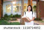 online seller business woman...   Shutterstock . vector #1118714852