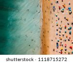 aerial view from flying drone...   Shutterstock . vector #1118715272
