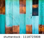 painted wood textured planks... | Shutterstock . vector #1118725808
