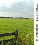 frisian meadow  dutch landscape | Shutterstock . vector #1118745602